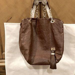 LOUIS VUITTON Paris Souple Whisper GM Tote Bag